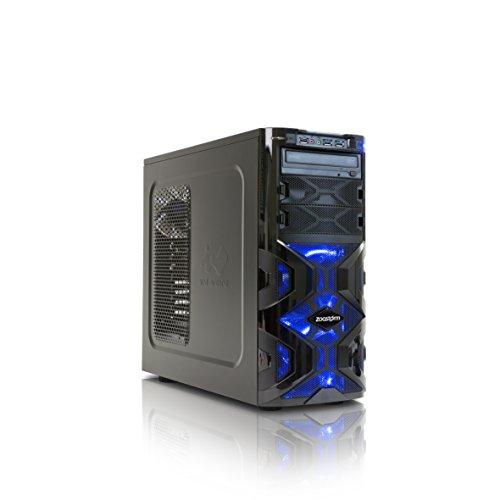 StormForce Tornado Gaming Desktop PC (Black) - (Intel Core i3-6100 3.7 GHz, 8 GB RAM, 1 TB HDD, NVIDIA GeForce GTX 1060 Dedicated Graphics, DVD/RW, Wi-Fi, Windows 10) £549.14 Amazon