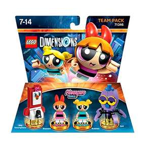 LEGO Dimensions Powerpuff Girls Team Pack £12.25 (£15.24 None-Prime) @ Amazon