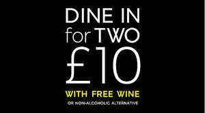Dine in for £10 - Main, Side, Dessert and Wine - Instore Food Offer Back AT M&S  April 4th - 10th