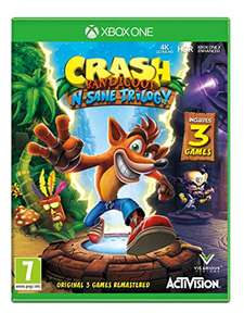 Crash Bandicoot NSane Trilogy (Xbox One) £26.00 prime// £28.00 non prime @ Amazon