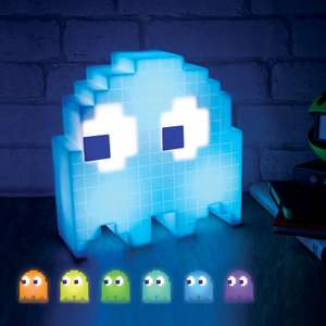 Pac-Man Colour Changing Ghost Light now £8  / Tetris Light £9 / Emoji Night Light - Mr. Poo £6 / Emoji Wink lamp £6 + more @ Asda George