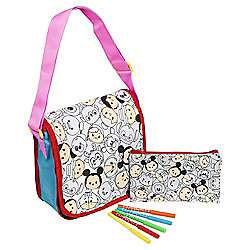 Disney Tsum Tsum Colour Your Own Bag Set £5 + £3 delivery at Tesco Direct sold by  The Entertainer