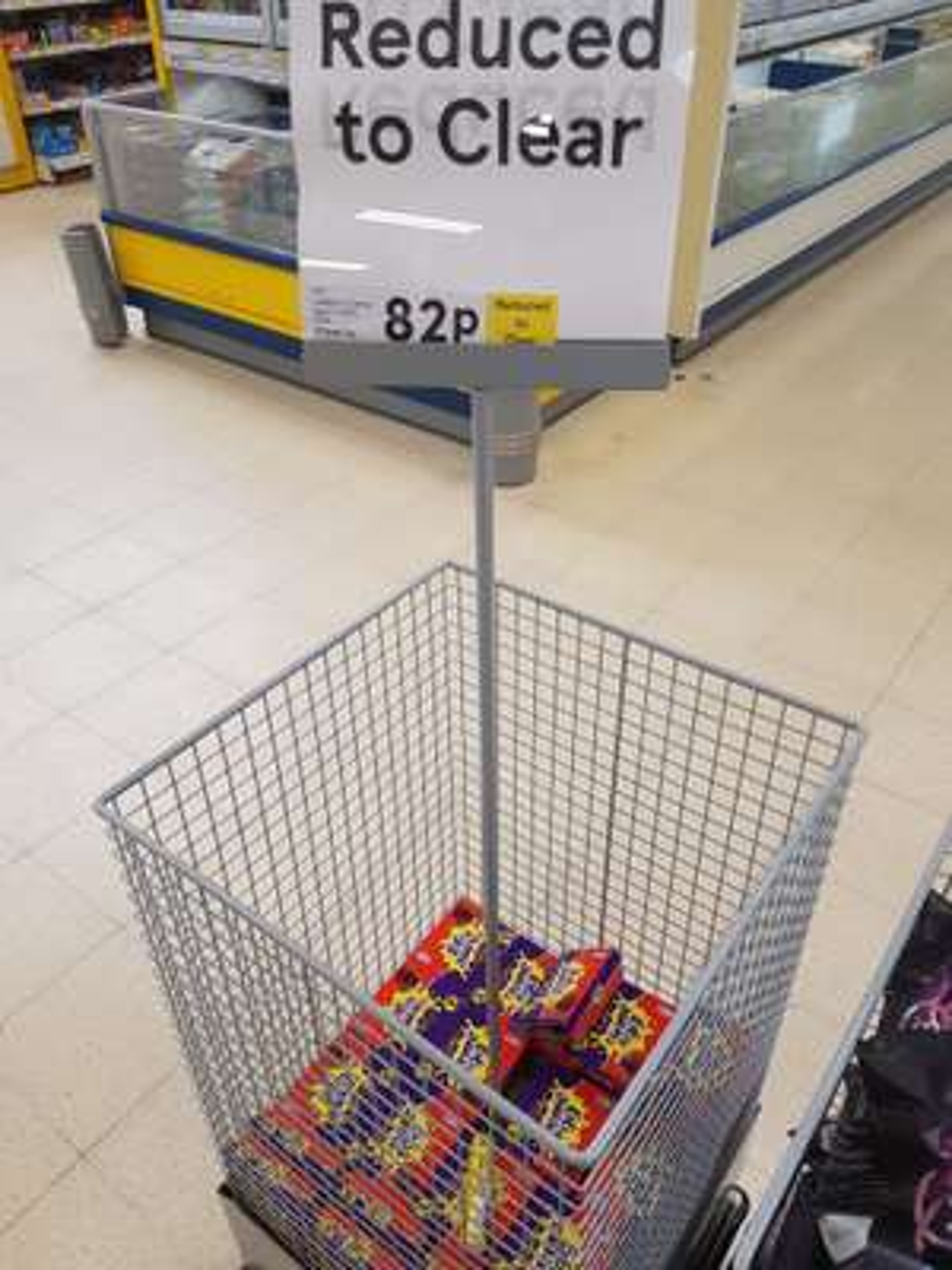 Cadbury Creme eggs 5 pack - 82p instore @ Tesco