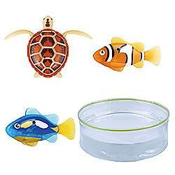 Robo Fish 3 Pack with Bowl - £18.99 Delivered @ Tesco / Sold by The Entertainer