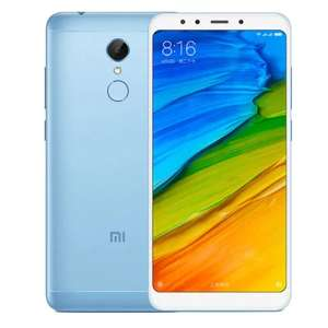 Xiaomi Redmi 5 4G Phablet Global Version  -  BLUE  3GB RAM 32GB ROM 12.0MP Back Camera Touch Sensor £94.92 @ gearbest