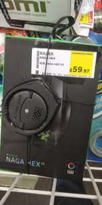 Razer Naga hex v2  Gaming Mouse reduced - £59.97 instore @ Currys (Rochester)