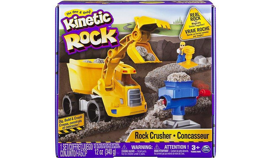 Kinetic Sand Rock Crusher Playset - £15 @ ASDA George