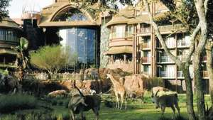 DISNEY'S ANIMAL KINGDOM LODGE WED 25 APR 2018, 6 NIGHTS, 2 ADULTS + 2 CHILDREN Manchester - £1431.60 @ TUI
