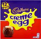 Cadbury's creme eggs 12 pack at Tesco - £1.97 instore
