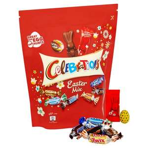 Celebrations Easter mix pouch £1.70 in Tesco and Wilko