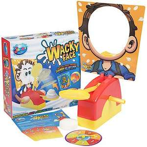 Jack's wacky face game (like Pie face) £5 at The Entertainer (spend £10 for free c&c)
