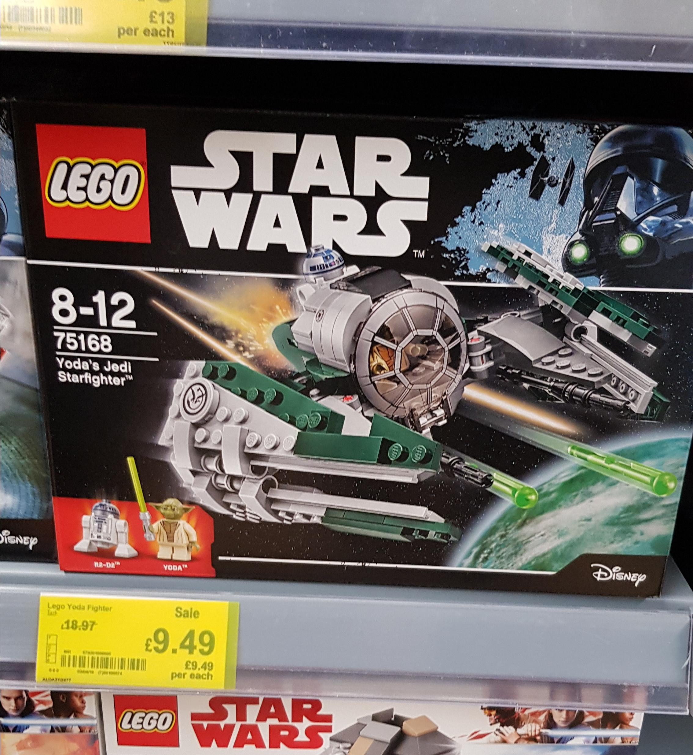 LEGO 75168 Star Wars Yoda's Jedi Starfighter - £9.49 @ Asda (instore)