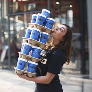 Free Coffee from Caffѐ Nero by o2 priority