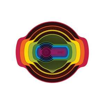 Joseph Joseph Multi-Coloured 'nest 9 Plus' 9 Piece Nesting Set, Multicoloured - £23 @ Debenhams