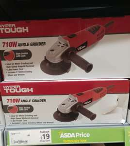 710W Angle Grinder reduced to £19 in Asda Accrington