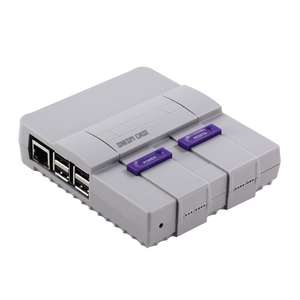 SNESPi Case Geekworm Raspberry Pi 3 Mini NES Style Case Enclosure Compatible with Raspberry Pi 3 Model B, 2B and B+ £8.01 Del @ Tomtop