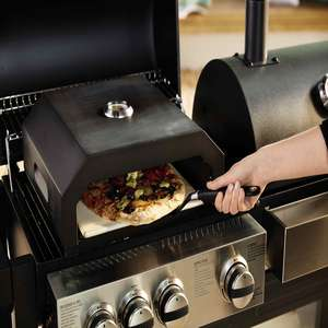 Aldi BBQ Pizza Oven for £39.99 - now online  (instore from 12th April)