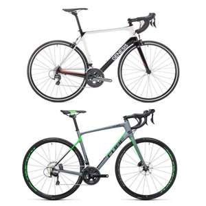 Genesis Zero Z1 2018 Carbon Racing Road Bike £819.99 / Cube Attain GTC Pro Disc 2017 Carbon £1,019.99 w/code  & Free DX 24 Hour Delivery @ Rutland Cycling (S / XS left)
