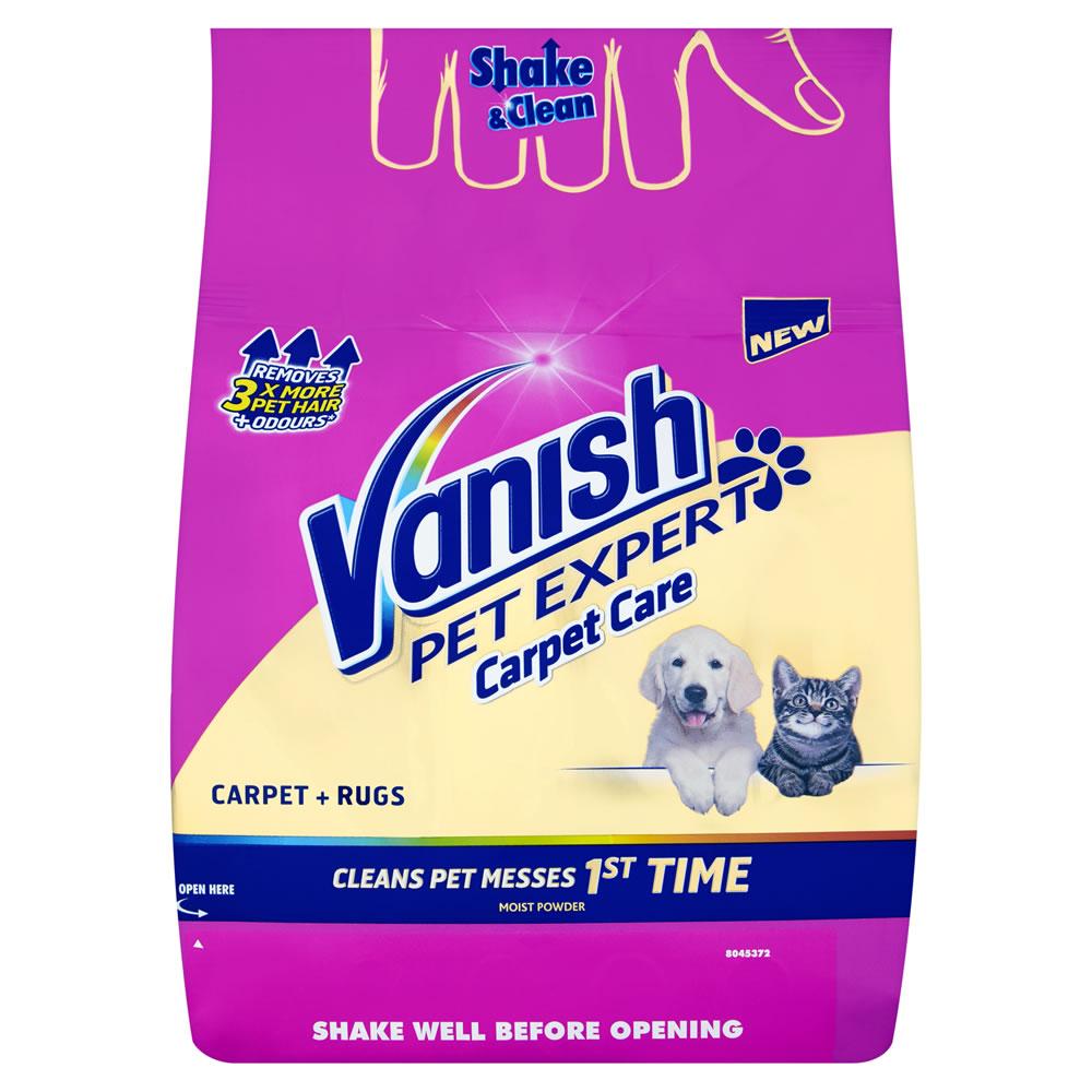 Vanish Carpet Pet Expert Powder 650g - £5 @ Wilko