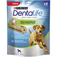Dentalife Dog Chew  4pk 142g for 3 dog sizes - £1 @ Wilko