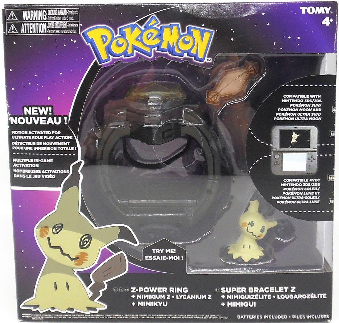 Pokemon Mimikyu Z-Power Ring only £3.99 @ Home Bargains