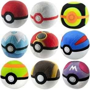 Official Tomy Pokemon Pokeball plush only £1.99 at Home Bargains
