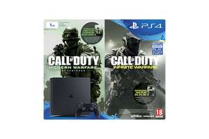 PlayStation 4 1TB New Look Console with Call of Duty: Infinite Warfare Early Access Bundle (PlayStation 4) - Telford Game in store - £179.99