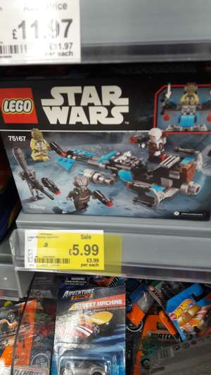 LEGO 75167 Bounty Hunter Speeder Bike Battle Pack - £5.99 instore @ ASDA (Radcliffe)