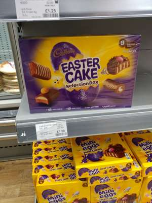 Cadbury Easter Cake 9 piece selection Box in the Co-op. - £1.50
