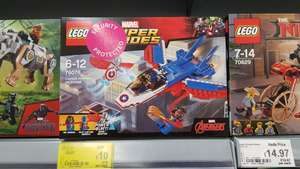 LEGO Super Heroes Captain America Jet Pursuit 76076 - £10 @ Asda in store (Crewe)