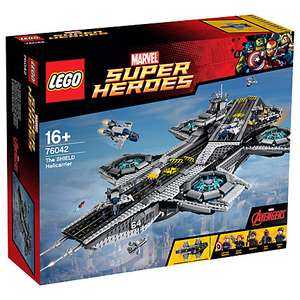 LEGO Marvel Super Heroes 76042 The Shield Helecarrier - £251.99 @ John Lewis