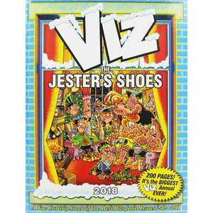 Viz The Jesters Shoes Annual 2018 - Adult Content Format:  Hardback - £2 C&C @ The Works