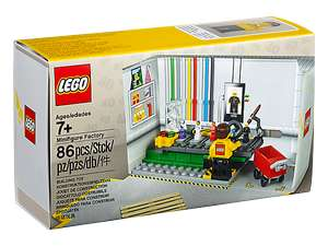 Lego Minifigure Factory - Free when you spend £55 on the Lego website