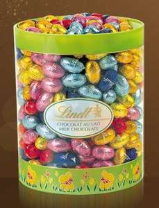 Lindt Solid Mini Milk Eggs Drum 2Kg  now half price - £20.50 (+£3.95 Delivery) - Other eggs in sale also @ Lindt