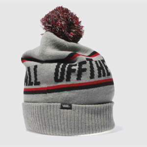 vans grey off the wall pom beanie only £7.99 @ Schuh Delivered (Std shipping or  C&C to store) (£15 on vans website