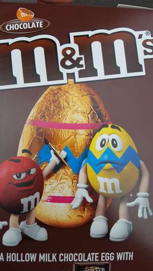 M&M's and Smarties medium sized easter eggs 75p instore @ Onestop