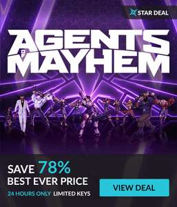 [Steam] Agents of Mayhem - £5.89 - Fanatical