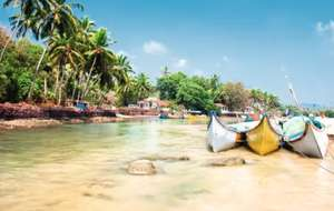 London to Goa £283 Return and Manchester to Goa 8 nights £325 @ OPODO