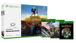 Xbox One S 1TB – PLAYERUNKNOWN'S BATTLEGROUNDS Bundle + 2 games + FREE HALO 5 + 1 MONTH  LIVE GOLD MEMBERSHIP £229.99 @ Microsoft