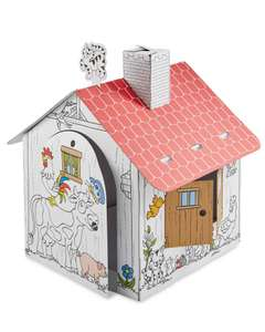 Various Colour-In Playhouse £ 9.99 / £12.94 delivered @ Aldi
