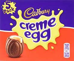 5x pack cadburys cream eggs 82p @ Waitrose