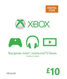 £10 Xbox live credit for £9 @ sainsbury's Lincoln
