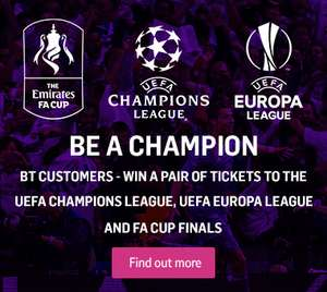 FREE UEFA CHAMPIONS LEAGUE AND EUROPA LEAGUE GAMES- BT SPORTS