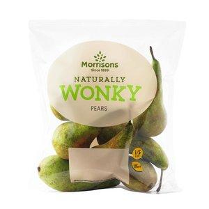 Wonky Pear Pack 58p - 6 Wonky Kiwis 74p  - Wonky Plums 400g 58p - 4 Wonky Limes 80p @ Morrisons