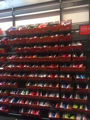 50% off All Women's Nike Trainers In store @ Nike outlet store Castleford