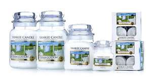 Yankee Candle 28 Piece Collection Clean Cotton £44.99 / £47.98 delivered @ Candles Direct