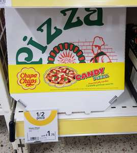 Chupa Chups Candy Pizza 435g Half Price £1.75 in Wilko instore