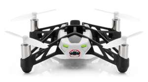 Parrot Minidrone Rolling Spider Drone with Camera - White - Manufacturer Refurbished £19.98 (RRP £79.99) @ IWOOT (IWantOneOfThose)