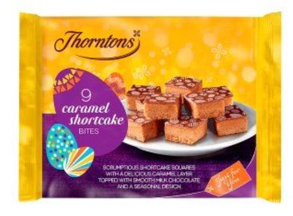 Thorntons Caramel Shortcake Bites & Orange Cake Bites - 50p @ Iceland
