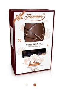 Thorntons Continental Easter Egg £4 at Thorntons instore